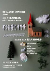 Poster Concert 29 december 2013
